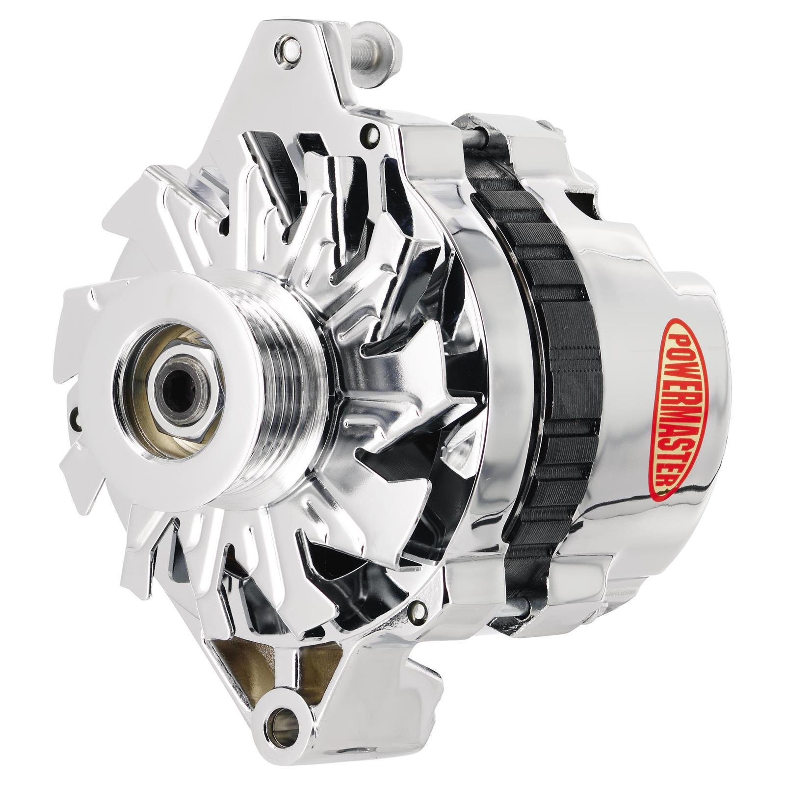 Powermaster 37802 Street Alternator 140a Serpentine 12v Gm Wiring 60 Amp