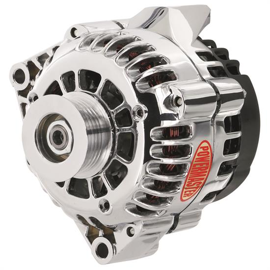 Powermaster 38206 Street Alternator, 150A, Serpentine, 12V, Chevy