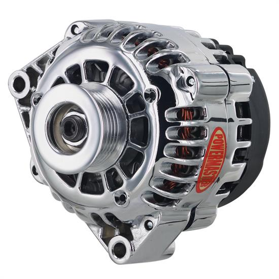 Powermaster 38283 Street Alternator, 165A, Serpentine, 12V, Chevy