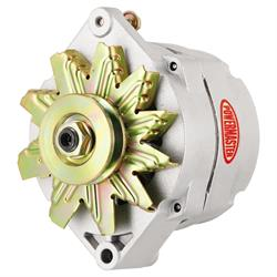 Powermaster 47293 Street Alternator, 150 Amps, V-belt, 12V, GM