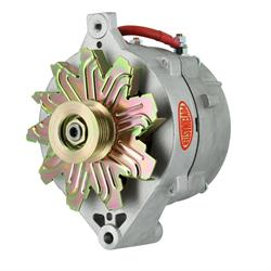 Powermaster 47704 Street Alternator, 215A, Serpentine, 12V, Ford