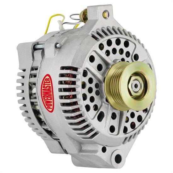 Powermaster 47759 Street Alternator, 200A, Serp and V-belt, Ford