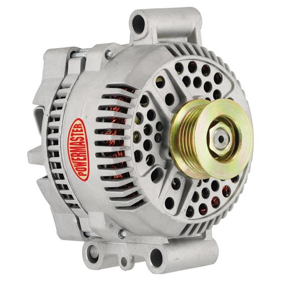 Powermaster 47768 Street Alternator, 200A, Serpentine, 12V, Ford