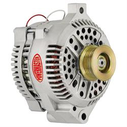 Powermaster 477711 Street Alternator, 200A, Serpentine, 12V, Ford