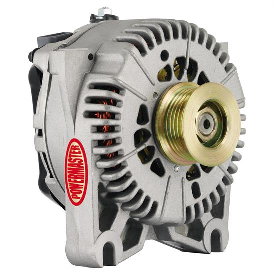 Powermaster 47781 Street Alternator, 200A, Serpentine, 12V, Ford