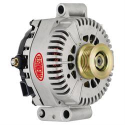 Powermaster 47787 Street Alternator, 200A, Serpentine, 12V, Ford