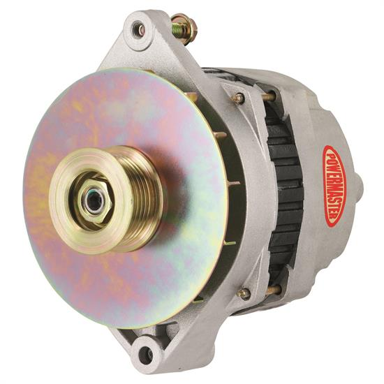 Powermaster 47864 Street Alternator, 200A, Serpentine, 12V, Chevy