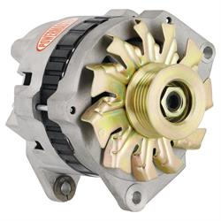 Powermaster 48114 Street Alternator, 140A, Serpentine, 12V, Chevy