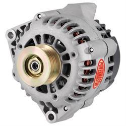 Powermaster 48231 Street Alternator, 165A, Serpentine, 12V, Chevy