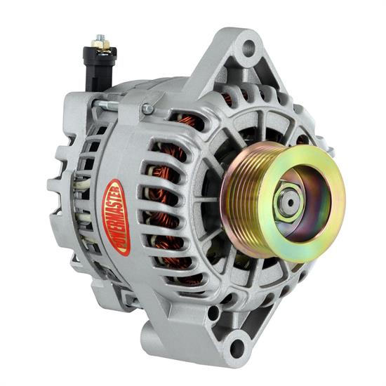 Powermaster 48304 Ford 6G Alternator, 155A, 8-Groove, Natural