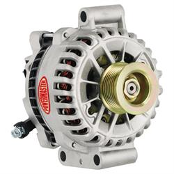 Powermaster 48478 Race Alternator, 200A, Serpentine, 12V, Ford
