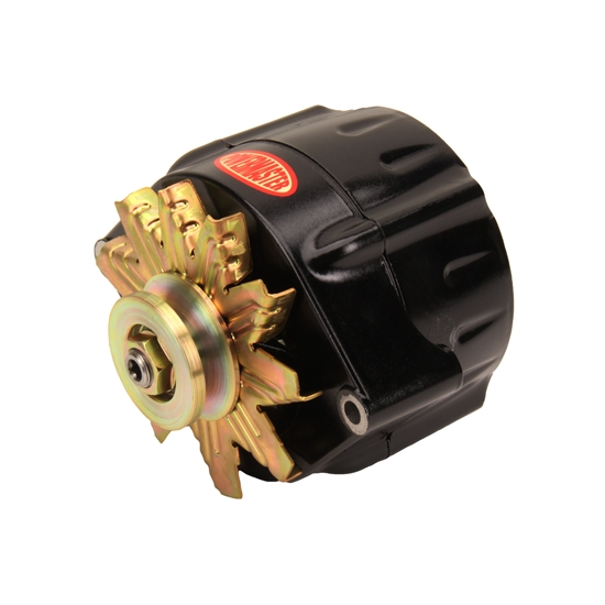 Powermaster 57297 GM 12SI 150 Amp Smooth Look Alternator, Black