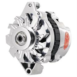 Powermaster 674021 Street Alternator, 140 Amps, V-belt, 12V, GM