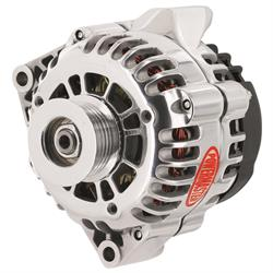 Powermaster 68206 Street Alternator, 150A, Serpentine, 12V, Chevy