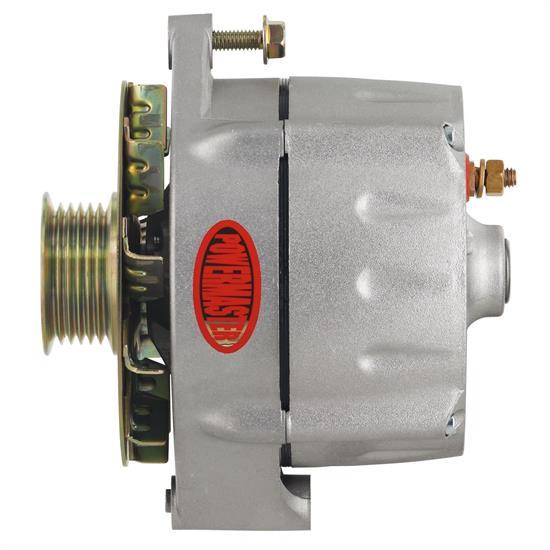 Powermaster 7296 Smooth Look Alternator  100 Amps  Serp  12v  Gm