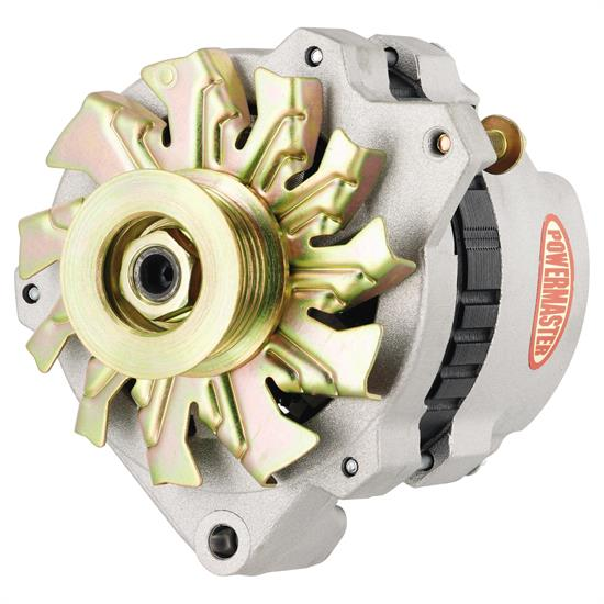 Powermaster 7860 Street Alternator, 140 Amps, Serpentine, 12V, GM