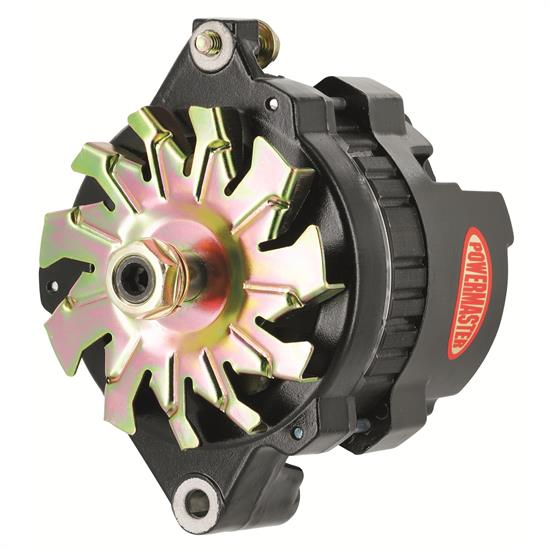 Powermaster 8062 Race Alternator, 100 Amps, 12V, GM