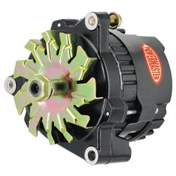 Powermaster 8072 Race Alternator, 100 Amps, 12V, GM