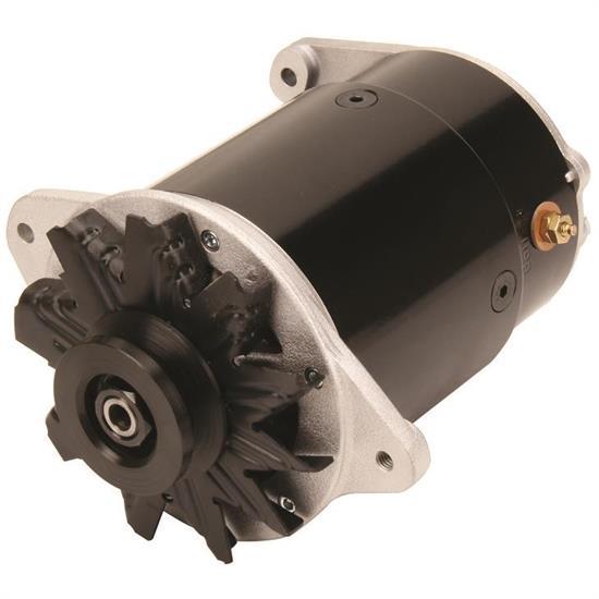 powermaster 82117 shorty powergen 1948 54 gm alternator, 6v neg ground gm alternator mounts wiring 60 amp alternator gm #49