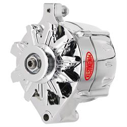 Powermaster 8-37101 Street Alternator, 100A, V-belt, 12V, Ford