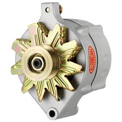 Powermaster 8-47140 Race Alternator, 150A, Serpentine, 12V, Ford