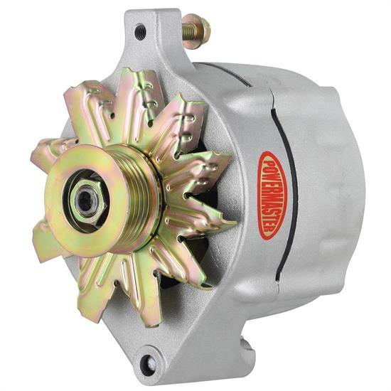 [DIAGRAM_09CH]  Powermaster 8-47148 Ford Style Race Alternator, 150A, Natural | Ford Powermaster Alternators Wiring |  | Speedway Motors