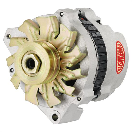 Powermaster 8-47529 Street Alternator, 140A, V-belt, Chrysler