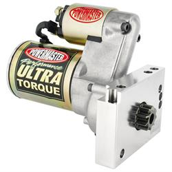 Powermaster 9439 Ultra Torque Starter, Mini, Gold Iridited, Chevy