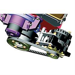 Powermaster 981 Crankshaft Pulley and Bracket, Chevy
