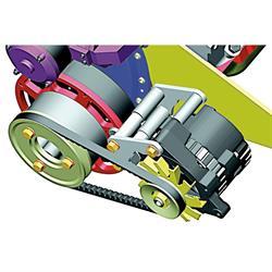 Powermaster 982 Motorplate Spacer Kit, Chevy