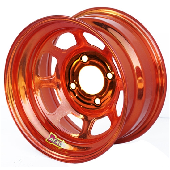 Aero 31-974010ORG 31 Series 13x7 Wheel, Spun, 4 on 4 BP, 1 Inch BS