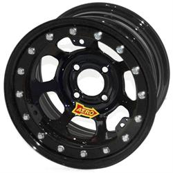 Aero 33-184540 33 Series 13x8 Wheel, Lite, 4x4.5 BP, 4 Inch BS