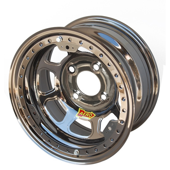 Aero 33-284020 33 Series 13x8 Inch Wheel, Lite, 4 on 4 BP, 2 Inch BS