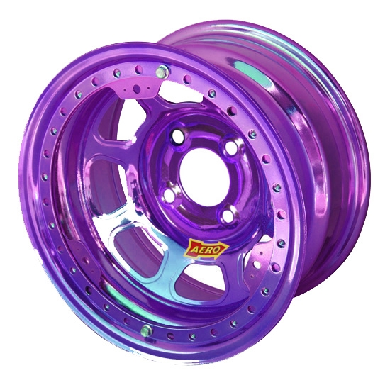 Aero 33-904050PUR 33 Series 13x10 Wheel, Lite, 4 on 4 BP, 5 Inch BS