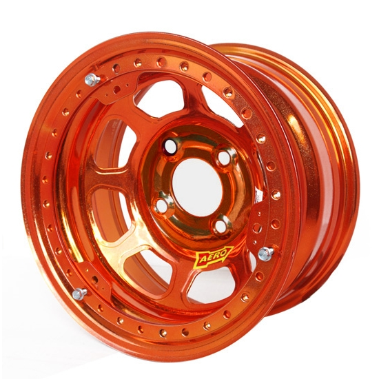 Aero 33-904240ORG 33 Series 13x10 Wheel Lite 4 on 4-1/4 BP 4 Inch BS