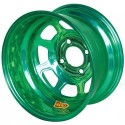Aero 36-974531GRN 36 Series 13x7 Wheel, Spun, 4 on 4-1/2 BP 3-1/8 BS