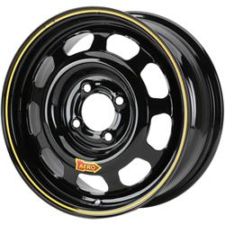 Aero 44 Series Sport Compact IMCA Wheel, 14x7, 4x100mm