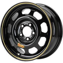 Aero 44 Series Sport Compact IMCA Wheel, 14x7, 5x100mm