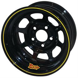Aero 50-104550 50 Series 15x10 Inch Wheel, 5x4.5 BP, 5 Inch BS
