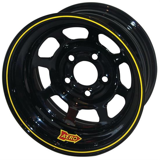 Aero 50-124520 50 Series 15x12 Inch Wheel, 5x4.5 BP, 2 Inch BS