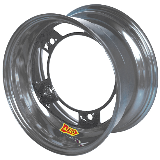 Aero 50-220540 50 Series 15x12 Inch Wheel, 5 on WIDE 5 BP, 4 Inch BS