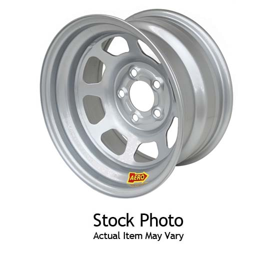 Aero Race Wheels 50-220560 50 Series 15x12 Wheel, 5 on 5, 6 Inch
