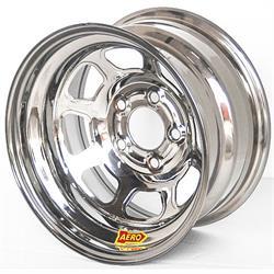 Aero 50-274740 50 Series 15x7 Inch Wheel, 5 on 4-3/4 BP,4 Inch BS