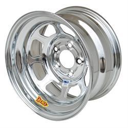Aero 52-285020L 52 Series 15x8 Inch Wheel, 5 on 5 BP, 2 Inch BS IMCA L
