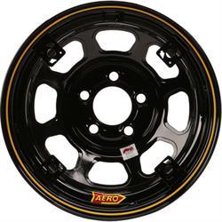 Aero 52 Series 4-Tab 15 Inch Race Wheel, IMCA, 5 on 4-1/2 BP