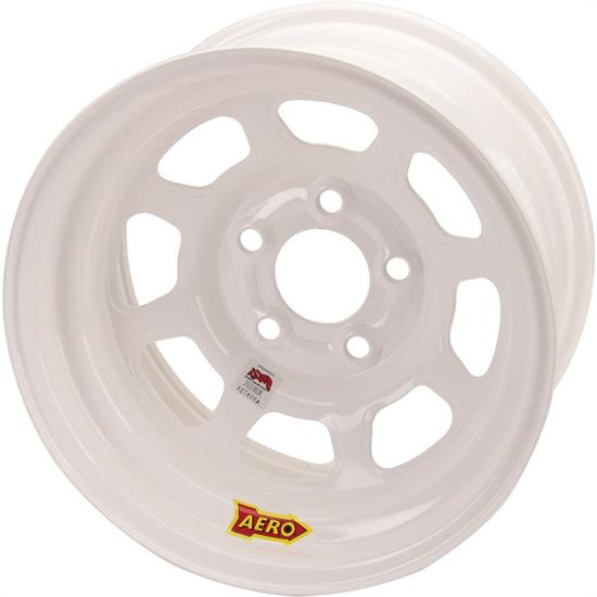 "Aero 52-485030 IMCA Certified 15"" Race Wheel, 5x5"
