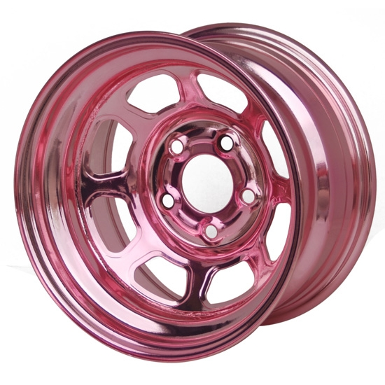 Aero 52-985040PIN 52 Series 15x8 Inch Wheel, 5 on 5 BP, 4 Inch BS IMCA