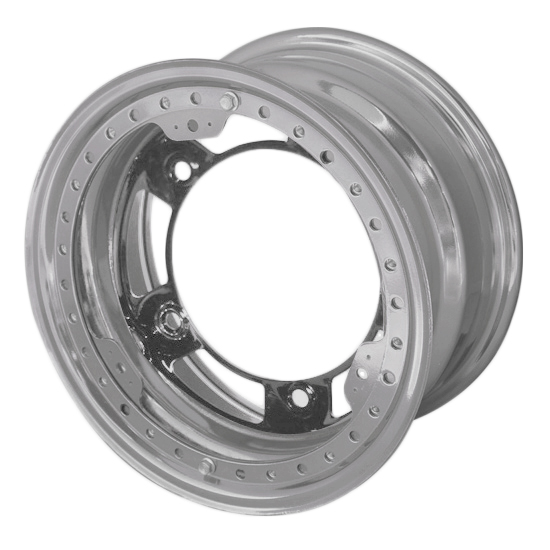 Aero 53-000540 53 Series 15x10 Wheel, BL, 5 on WIDE 5 BP, 4 Inch BS