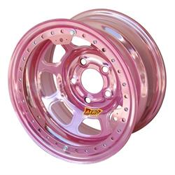 Aero 53-904540PIN 53 Series 15x10 Wheel, BL, 5x4.5 BP 4 Inch BS