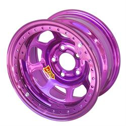 "Aero 53-905030PUR 53 Series 15x10 Wheel, BLock, 5x5 BP, 3"" BS"